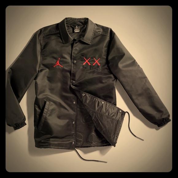 774b6e9eb0cb Kaws x Jordan Coach s Jacket LARGE NWT